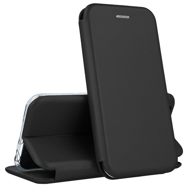 Book Forcell Elegance SAMSUNG A6 Plus 2018 preto